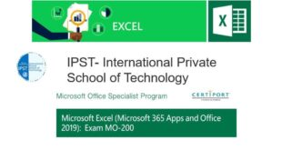 Formation Bureautique Microsoft Excel Associate (Microsoft 365 Apps and Office 2019) Exam MO-200